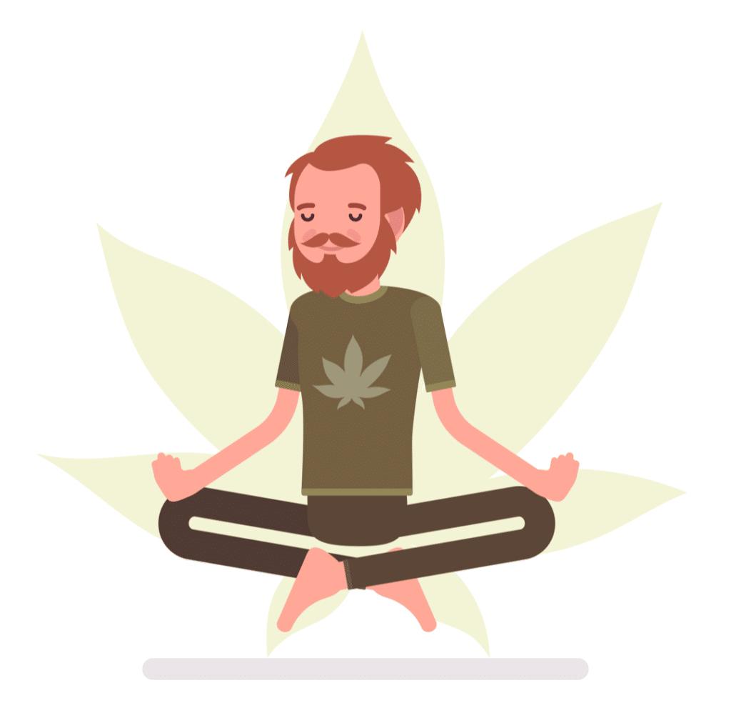 medical marijuana for anxiety man