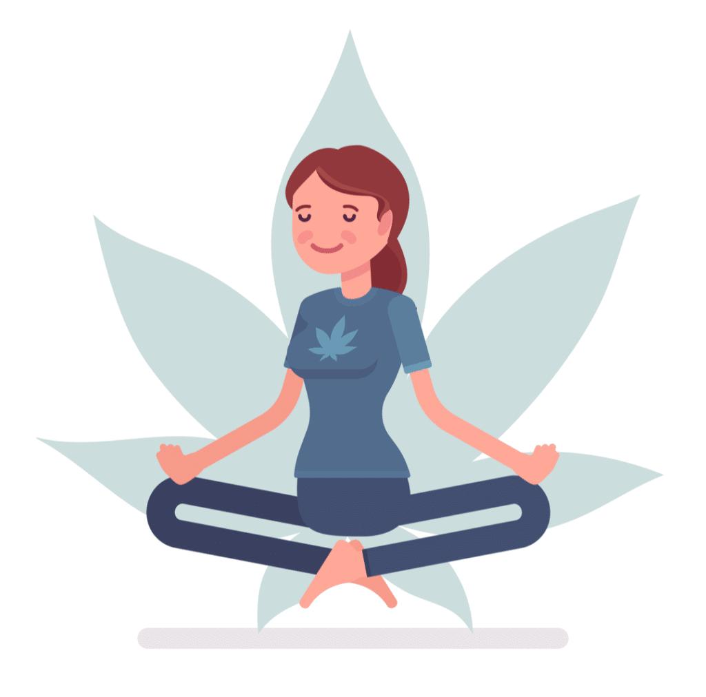medical marijuana for anxiety woman