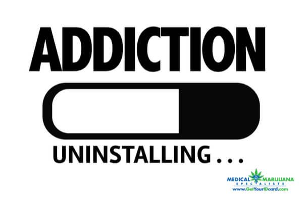 marijuana unintalling opioid addiction in P